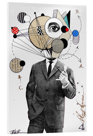 Acrylic glass  the thinking man - Loui Jover