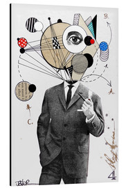 Alu-Dibond  the thinking man - Loui Jover