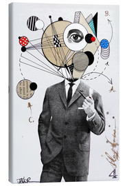 Canvas print  the thinking man - Loui Jover