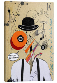 Canvas  A Clockwork Orange - Loui Jover