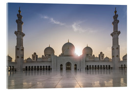 Acrylic glass  Sheikh Zayed Mosque - Felix Pergande