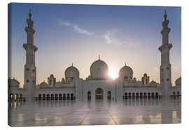 Canvas print  Sheikh Zayed Mosque - Felix Pergande