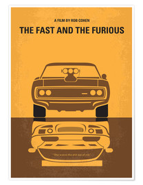 Premium poster  No207 My The Fast and the Furious minimal movie poster - chungkong