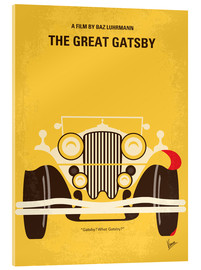 Acrylic glass  No206 My The Great Gatsby minimal movie poster - chungkong