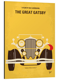 Alu-Dibond  The Great Gatsby movie poster - chungkong