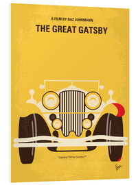 Forex  No206 My The Great Gatsby minimal movie poster - chungkong
