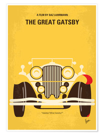 Poster  No206 My The Great Gatsby minimal movie poster - chungkong