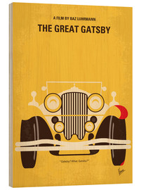 Wood  No206 My The Great Gatsby minimal movie poster - chungkong