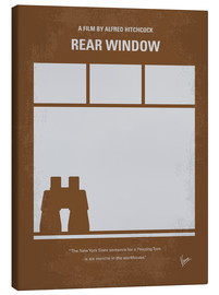 Canvas print  No238 My Rear window minimal movie poster - chungkong