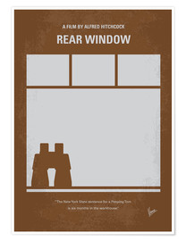 chungkong - No238 My Rear window minimal movie poster