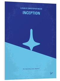 Forex  No240 My Inception minimal movie poster - chungkong