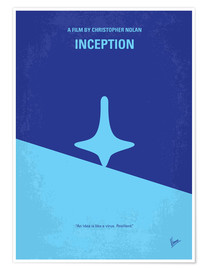 Poster No240 My Inception minimal movie poster