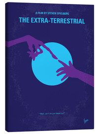 Canvas  No282 My ET minimal movie poster - chungkong