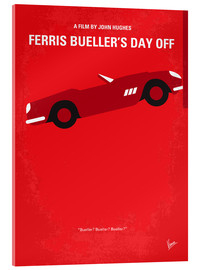 Acrylic glass  No292 My Ferris Bueller's day off minimal movie poster - chungkong