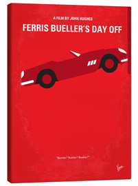 Canvas print  No292 My Ferris Bueller's day off minimal movie poster - chungkong