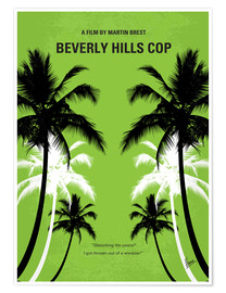 Poster No294 My Beverly Hills cop minimal movie poster