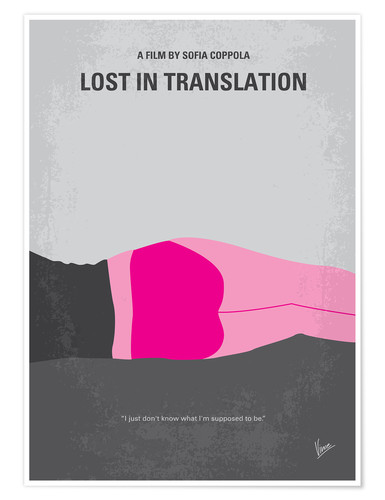 Premium poster Lost in Translation