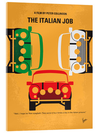 Acrylic print  The Italian Job - chungkong