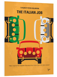 Forex  No279 My The Italian Job minimal movie poster - chungkong
