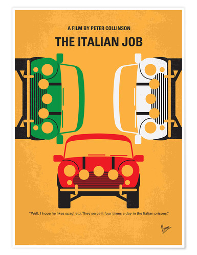 The Italian Job 3    British Movie Posters Classic Vintage /& Films