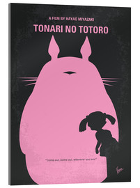 Acrylic print  No290 My My Neighbor Totoro minimal movie poster - chungkong