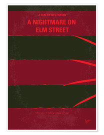 Premium poster A Nightmare On Elm Street
