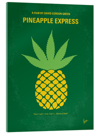 Acrylic glass  No264 My PINEAPPLE EXPRESS minimal movie poster - chungkong