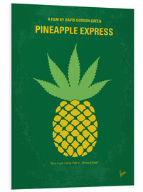 Foam board print  No264 My PINEAPPLE EXPRESS minimal movie poster - chungkong