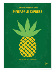 Premium poster  No264 My PINEAPPLE EXPRESS minimal movie poster - chungkong