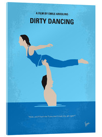 Acrylic glass  No298 My Dirty Dancing minimal movie poster - chungkong