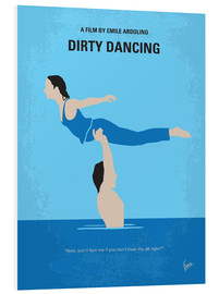 Forex  No298 My Dirty Dancing minimal movie poster - chungkong