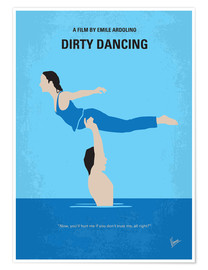 Poster  No298 My Dirty Dancing minimal movie poster - chungkong