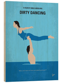 Wood print  Dirty Dancing - chungkong