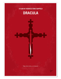 Premium poster No263 My DRACULA minimal movie poster