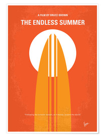 Premium poster No274 My The Endless Summer minimal movie poster