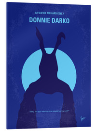 Acrylic glass  No295 My Donnie Darko minimal movie poster - chungkong