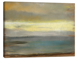 Canvas print  Marine, Soleil Couchant - Edgar Degas