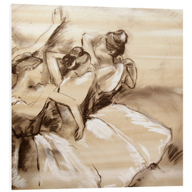 Foam board print  dancers - Edgar Degas