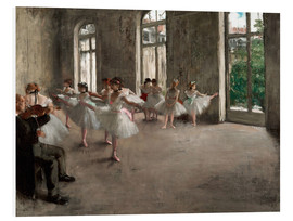 Forex  The Rehearsal - Edgar Degas
