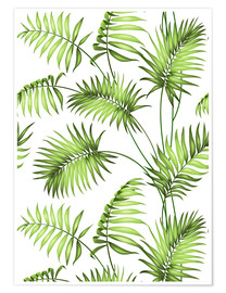 Premium poster Tropical forest