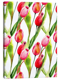 Canvas print  Tulips flowers