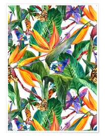 Premium poster  Tropical bouquet
