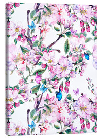 Canvas print  Peach blossoms