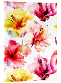 Lilies in watercolor