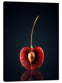Canvas print  The heart of the cherry - Johan Swanepoel