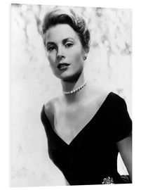 Foam board print  Grace Kelly in 1956