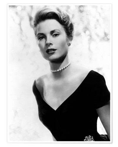 Premium poster Grace Kelly in 1956
