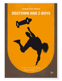 Premium poster No450 My Dogtown and Z Boys minimal movie poster