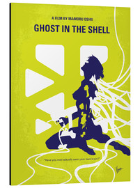 Aluminium print  No366 My Ghost in the Shell minimal movie poster - chungkong