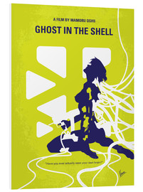 Forex  No366 My Ghost in the Shell minimal movie poster - chungkong